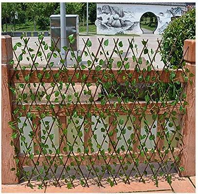 YOGANHJAT Celosia Madera Extensible Madera Pared Enrejado expansión jardín Resistente para Plantas De pie Independiente de Madera Planta Apoyo Pannels enrejados Marrone,100 * 37cm/39.3 * 14.5in: Amazon.es: Hogar