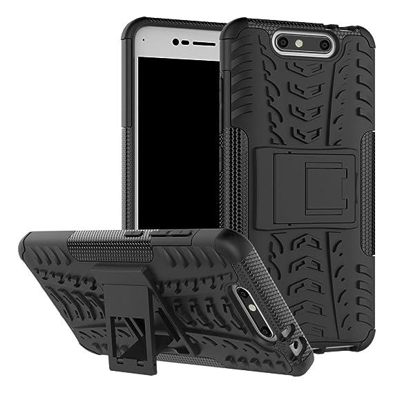 meet 1d5f6 96eac Amazon.com: ZTE Blade V8 Case, ZTE Blade V8 Hybrid Case, Dual Layer ...