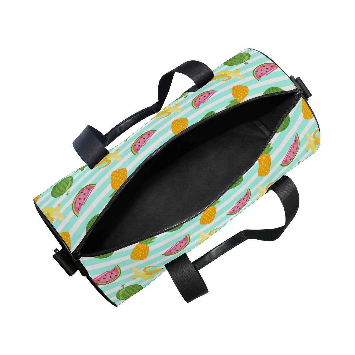 Waterproof Non-Slip Wearable Crossbody Bag fitness bag Shoulder Bag Vitex Fruit Picture