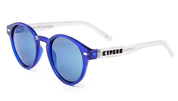 KYPERS Manhattan Gafas de sol, Clear Ice Blue Mirror, 49 ...