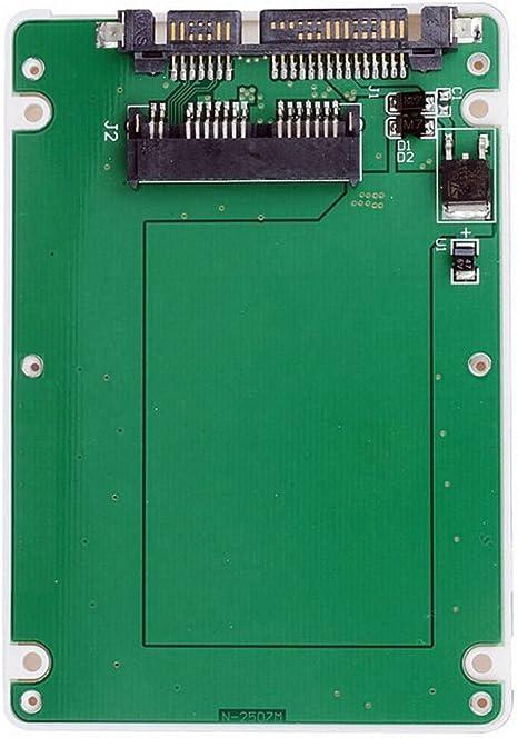 ULIAN 1,8 Pulgadas Micro SATA 16pin SSD de 2.5 Pulgadas SATA 22pin ...