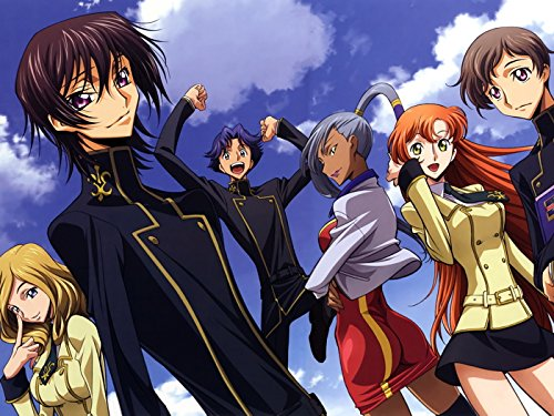 Code Geass Characters Anime Manga Art Print Poster
