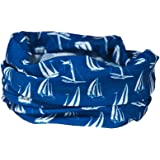 BLUEPRINT SAILING BOATS NECK WARMER - RUFFNEK® Multifunctional scarf/snood - ONE SIZE for Men, Women & Children