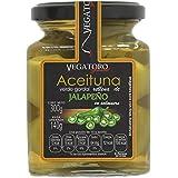 Vegatoro Aceitunas Rellenas con Jalapeño, 300 g