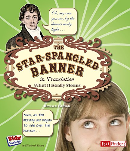 Students Banner Star - The Star Spangled Banner in Translation: What It Really Means (Kids' Translations)