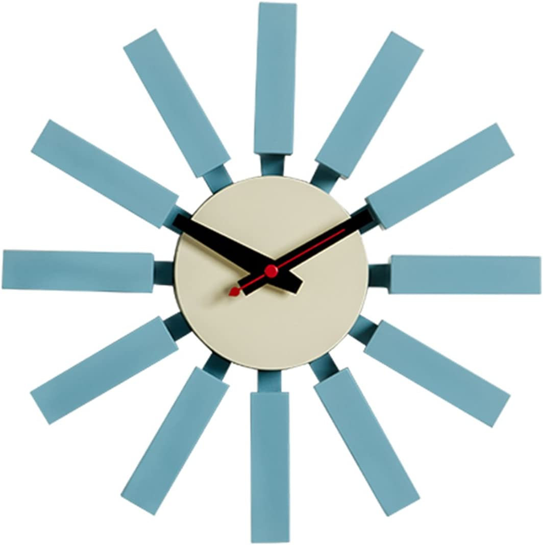 MLF Block Clock, George Nelson Designed Antique Retro Wall Clock All Nelson Series Available
