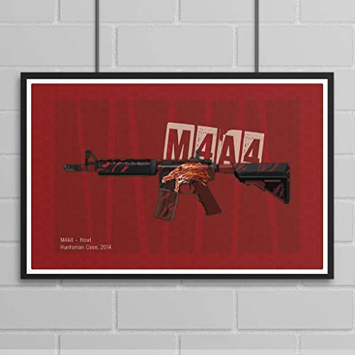 M4A4 Howl - Gaming Poster