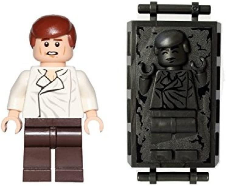 LEGO Star Wars Minifigure - Han Solo with Carbonite Piece