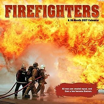 2017 FIREFIGHTERS Calendar - 12 x 12 Wall Calendar