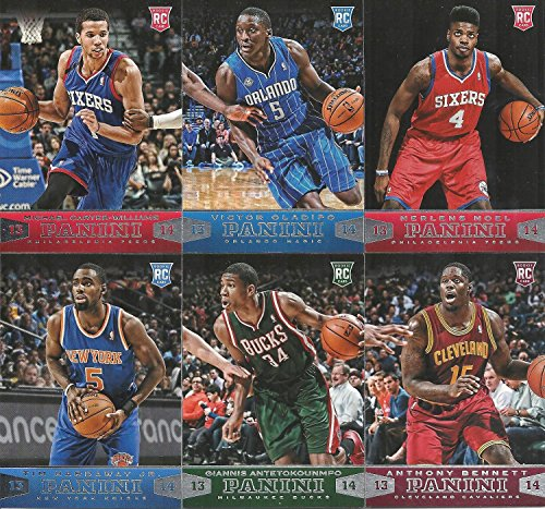 2013 2014 Panini NBA Basketball Series Complete Mint 200 Card Set Including Kobe Bryant, Lebron James, Blake Griffin, Kevin Durant, Victor Oladipo and More