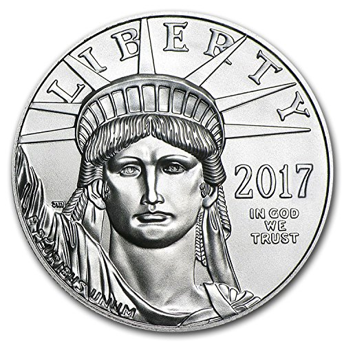 2017 1 Oz Platinum American Eagle Bu 1 Oz Brilliant Uncirculated