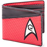Star Trek Engineering Red Bi-Fold Wallet