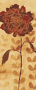 Sarahs Garden II Poster Print by Sarah Adams (10 x 20)