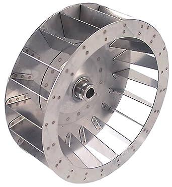 Rueda de ventilador para Zanolli SYNTHESIS08-50V, SYNTHESIS 08/50 ...