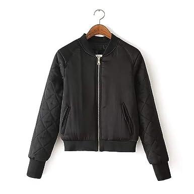 Gouache pring Winter Bomber Jacket Army Baeba Jacket Chaqueta Mujer Jaqueta Feminina Coat Pink at Amazon Mens Clothing store: