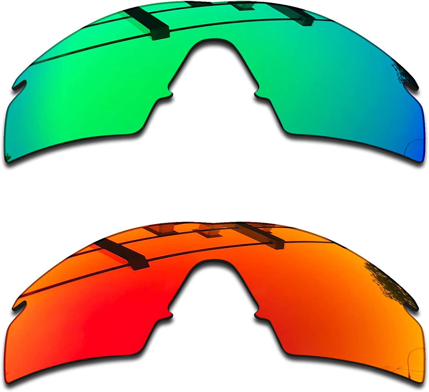 SEEABLE Premium Polarized Mirror Replacement Lenses for Oakley M Frame Hybrid Sunglasses