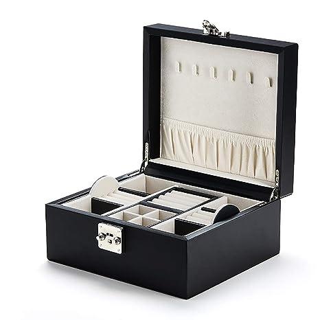 RTTssa Cajas de joyería Caja de joyería Princesa Europea Caja de joyería Coreana Caja de joyería