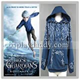 Rise of the Guardians Jack Frost Hoodie Cosplay Costume Hooded Sweatshirt