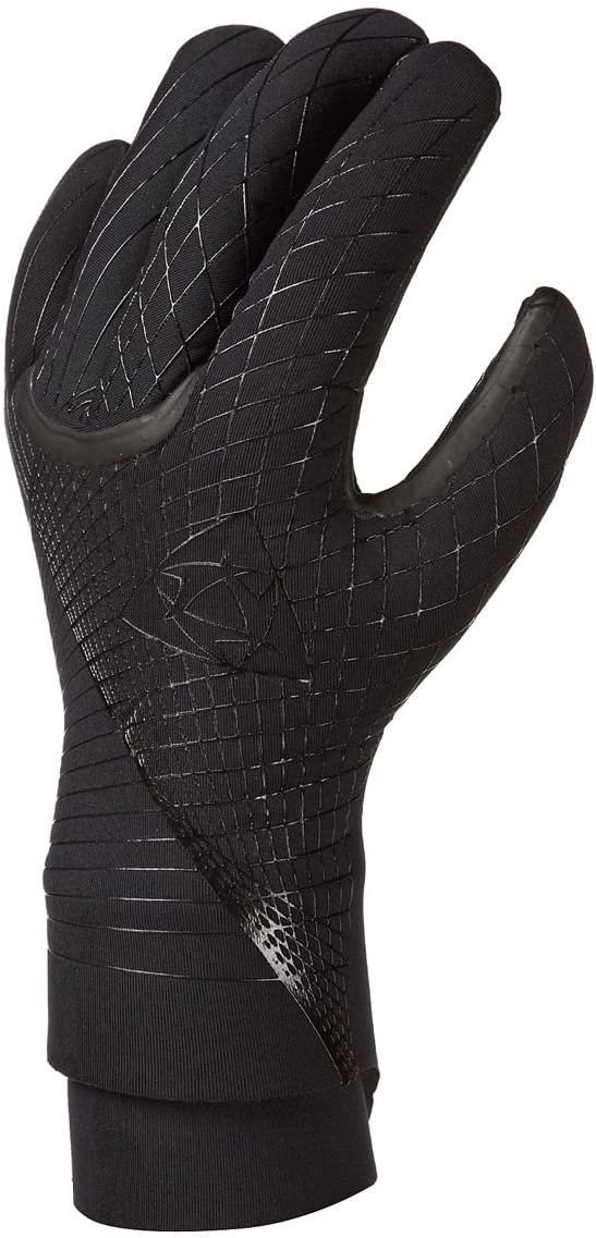 Mystic 3mm Jackson Semi Dry Kitesurfing Glove BLACK 130450