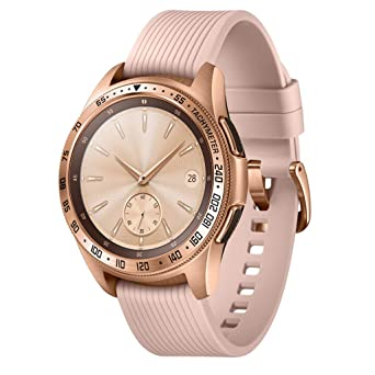 JiaMeng - Smartwatch, Anillo para Reloj con Bisel Eclipse de ...