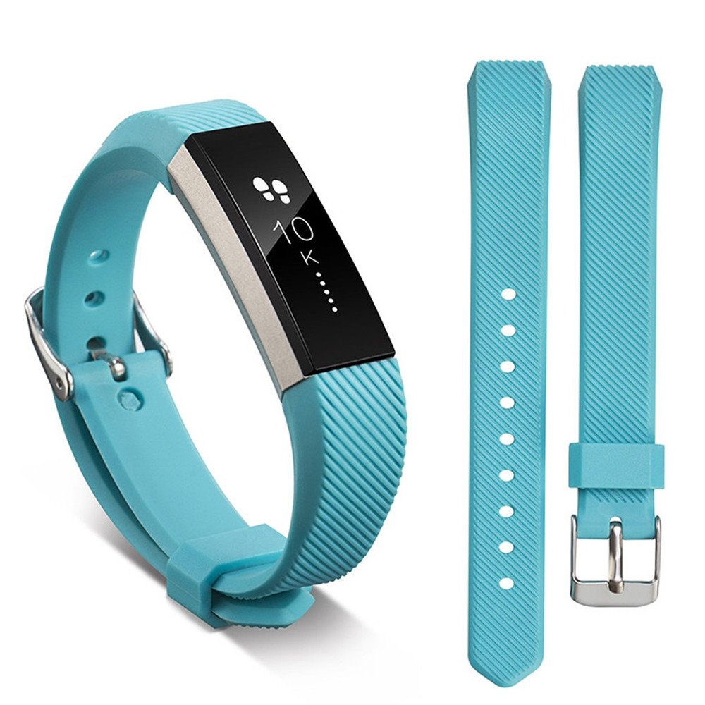Ugood_ 2019 Replacement Wrist Band Silicon Strap for Fitbit Alta/Alta HR Smart Watch Bracelet (Sky Blue)