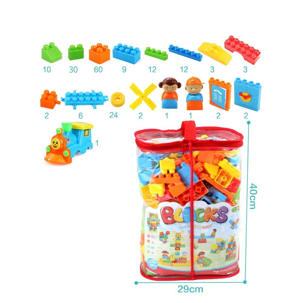 ビルディングブロックおもちゃバルクレンガ(120)子供のクラシッククリエイティブ学習建設エンジニアリングキット男の子と女の子 ( Color ) : 180 ( 180 ) B07FJX6R6P, 女子力アップ研究所:54376151 --- m2cweb.com