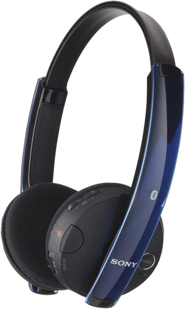 Amazon Com Sony Drbt101 Blk Over The Head Style Stereo Bluetooth Headset Old Version Home Audio Theater