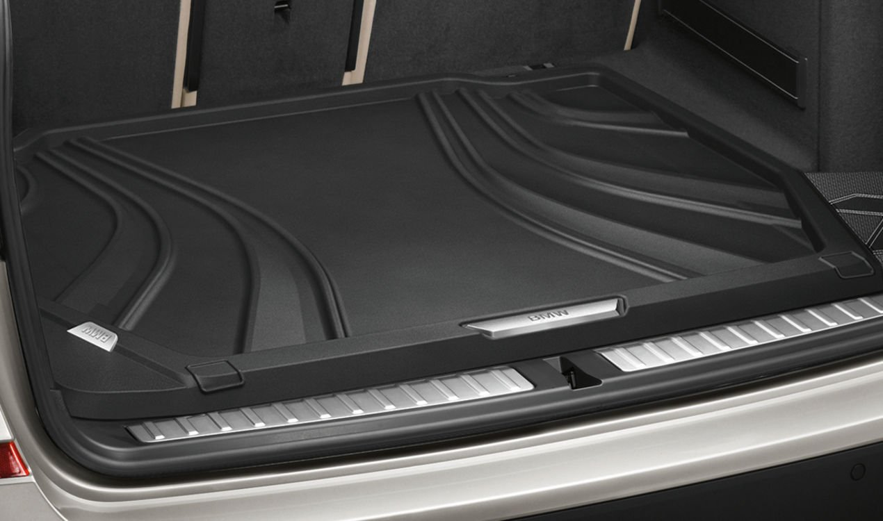 BMW Genuine Fitted Luggage Compartment Boot Trunk Liner Mat F25 F6 51472286007