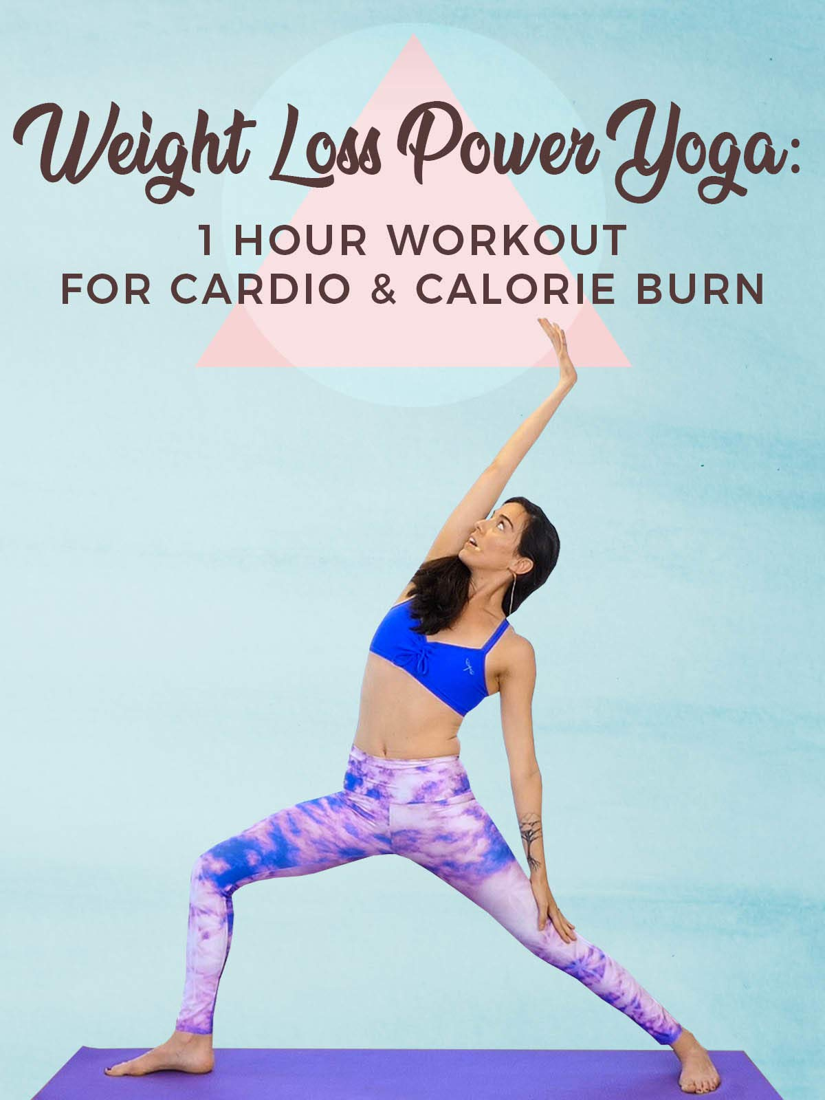 Watch Weight Loss Power Yoga - 1 Hour Workout for Cardio and ...