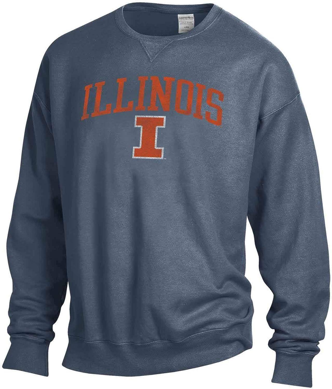 NCAA Adult Ultra Soft Comfort Wash Crewneck Sweatshirt