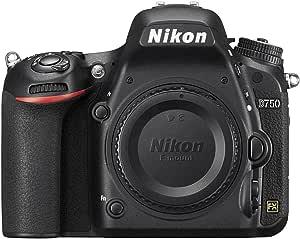 كاميرا نيكون D750 الهيكل فقط - دقة 24.3 ميجابيكسل، كاميرا عاكسة مفردة، لون اسود