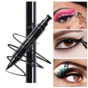 PrettyDiva Winged Eyeliner Stamp - Waterproof Long Lasting Liquid Eyeliner Pen Smudgeproof Eye Makeup Seal Stamp