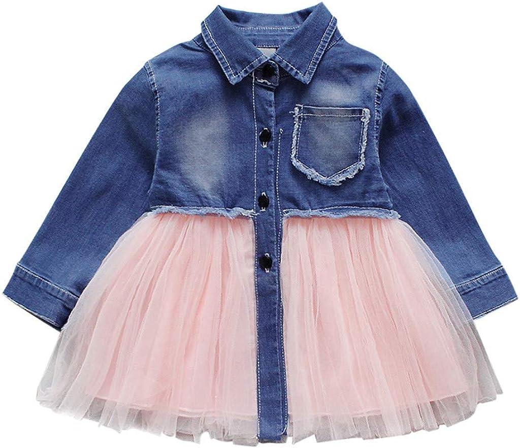 Vestido de Manga Larga para niña, Vestido de Princesa Yike ...