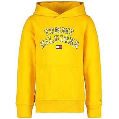 d4e476cf09c4 Tommy Hilfiger Jungen Kapuzenpullover Essential Hoodie  Amazon.de   Bekleidung