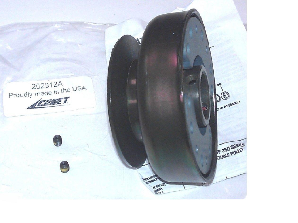ORIGINAL HOFFCO COMET 202312A Pulley Clutch Keyway 1/4 Built-in, 1' Bore 1 Bore