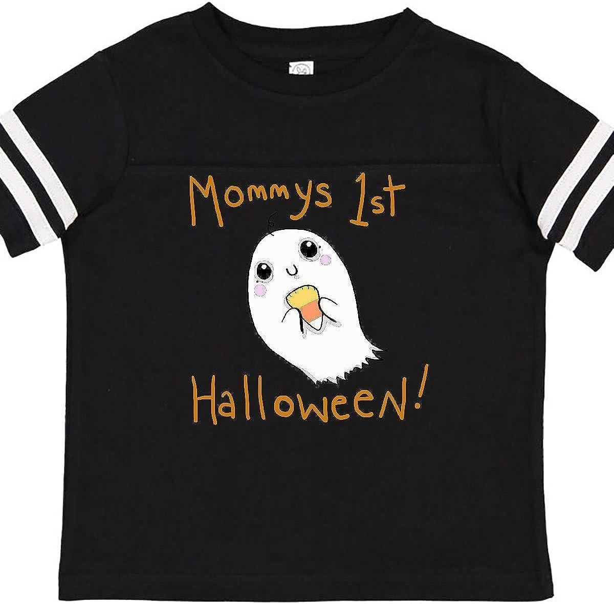 inktastic Mommy 1st Halloween Toddler T-Shirt Gus Fink Studios
