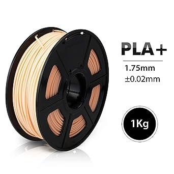 Filamento de impresión 3D, Fayella 1.75mm PLA PLUS Filamento 1KG ...