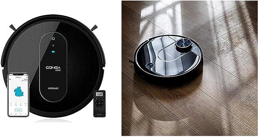 Cecotec Robot Aspirador Conga Serie 1590 Active + Robot Aspirador Conga Serie 3690 Absolute: Amazon.es: Hogar