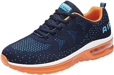 Zapatillas de Running para Hombre,BBestseller Zapatillas para Hombre Zapatillas de Senderismo para Hombre al Aire Libre Fitness Casual Sneakers Invierno (42 EU, Azul Oscuro): Amazon.es: Ropa y accesorios