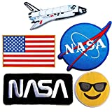NASA Patches #28 – Save Pack – 6Patch