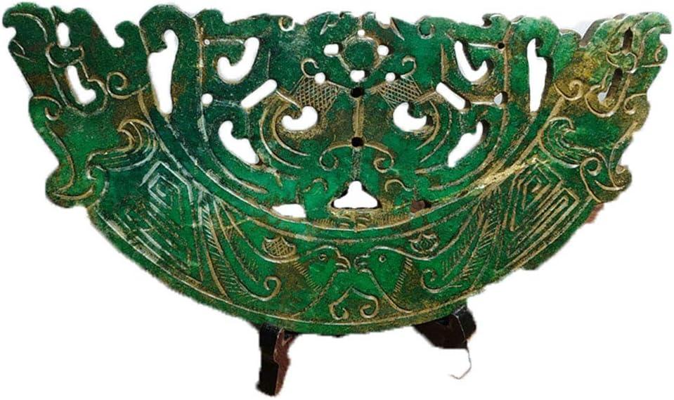 Fashion158 - Colgante de jade antiguo con diseño de antiguo antiguo antiguo