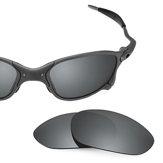 6551eac749c28 Revant Polarized Replacement Lenses for Oakley X Metal XX Elite Black  Chrome MirrorShield