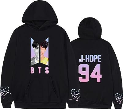 KPOP BTS Bangtan Boys Love Yourself Sweater Sweatshirt Hoodie JIMIN V SUGA Plain