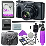 Canon PowerShot SX730 Digital Camera with 64GB SD Memory Card + Accessory Bundle Review