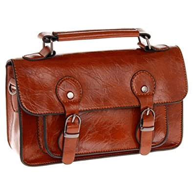 01d8ac5b3748 EQUILIBRIUM Medium Sienna Brown Satchel Bag ~ Satchel Handbag