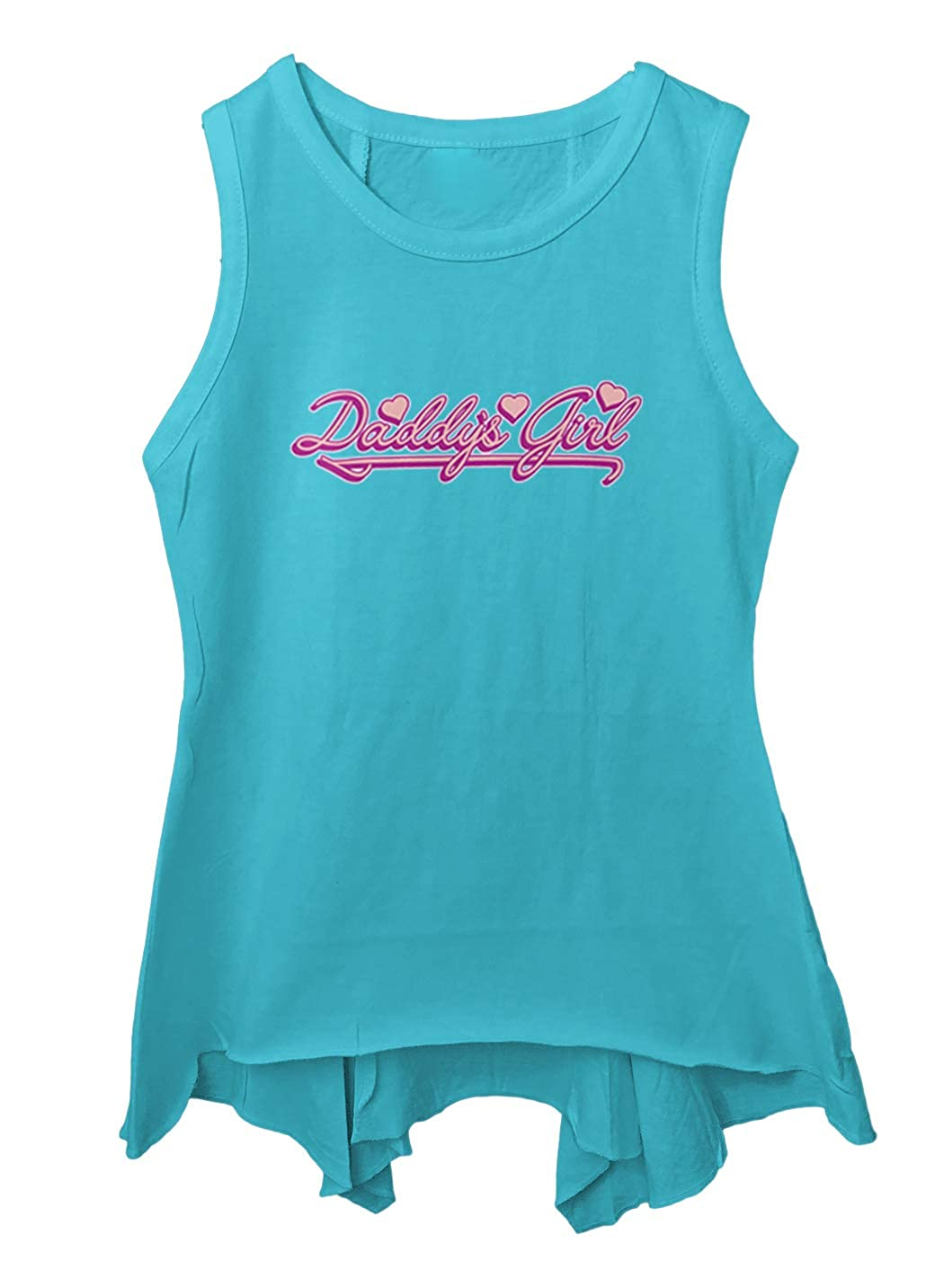 Daddys Girl Cute Adorable Love Toddler//Youth Sleeveless Backswing