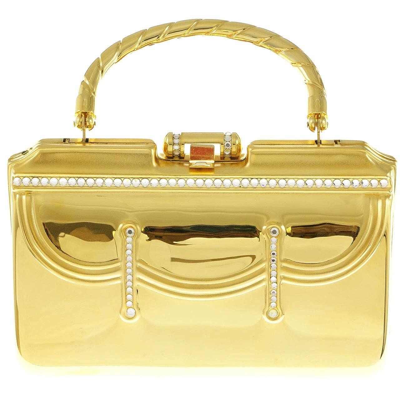 Mi Amore Clutch-Purse Gold