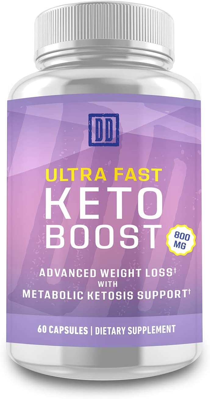 Ultra Fast Keto Boost – Keto Booster- Double Dragon Organics 60 Caps 800MG