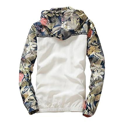 Blusa de hombre, Zarupeng Hombres Slim Stand Collar Chaquetas Moda Sudadera Chaqueta Tops Casual Outwear: Amazon.es: Ropa y accesorios