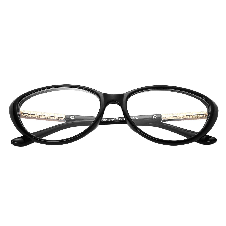 forepin reg; Lunettes de Vue Vintage pour Femme et Homme Verre Transparent Cadre Frame Lentille Claire Unisex Retro Mode Fashion Eyeglasses Rouge